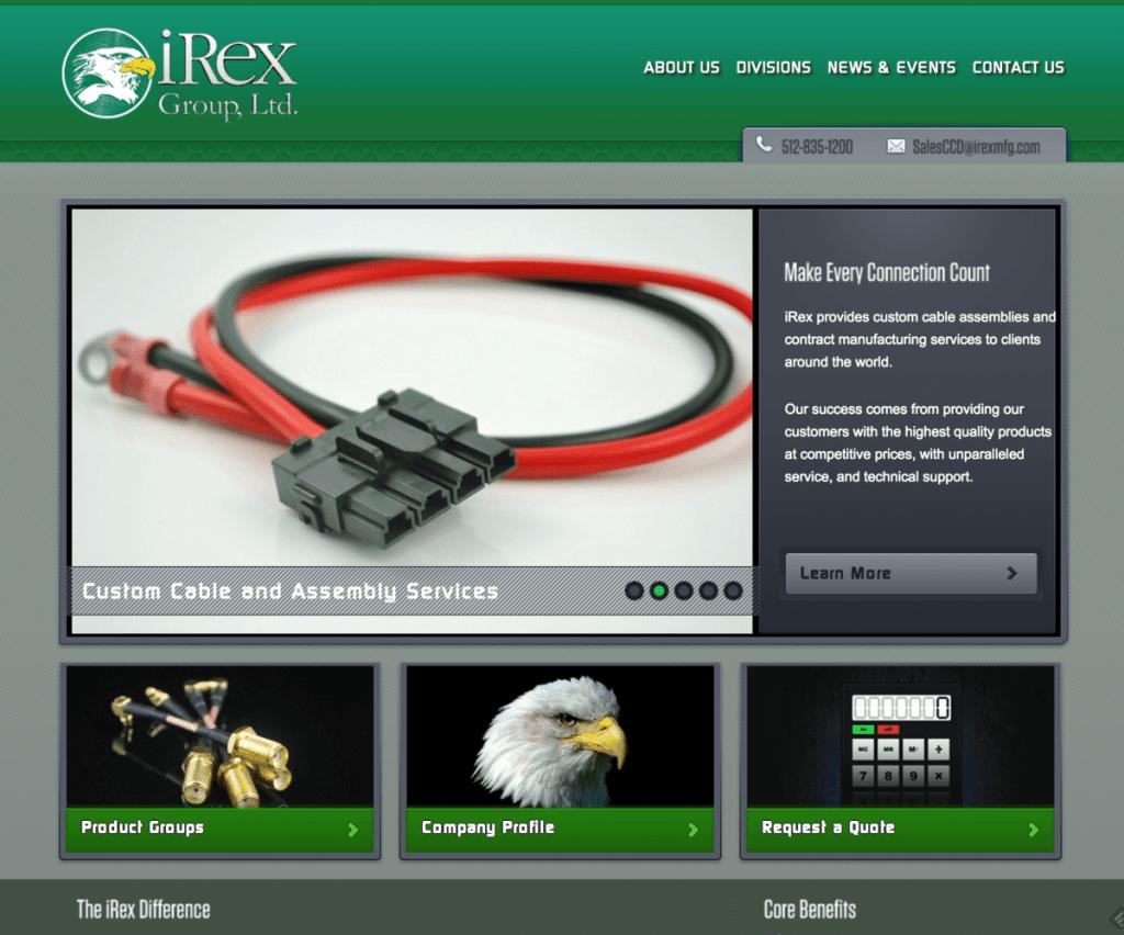 iRex Redesign